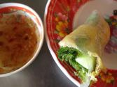 Spring Rolls With Ginger Rice