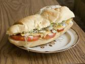 Mozzarella Sprout Sandwich