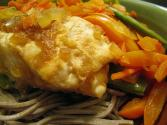 Steamed Halibut With Vegetables