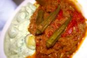 Stewed Okra And Vegetables