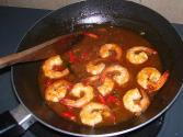 Stir Fried Cooked Shrimp