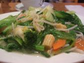 Stir Fried Abalone With Mixed Vegetables