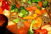 Stir Fried Pork And Peppers