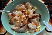 Stir Fried Shrimp With Ginger And Garlic