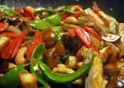 Stir Fried Snow Peas With Mushrooms