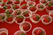 Simple Strawberries Romanoff