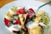 Strawberry Banana Yogurt Dressing