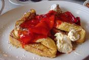 Strawberry Buttered French Toast