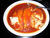 Stuffed Cannelloni In Tomato Sauce