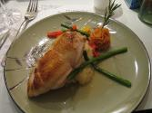 Capon Stuffed With Fruit
