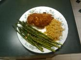 Wehani Rice-stuffed Chicken Breasts