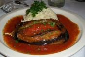 Mexicano-stuffed Eggplant