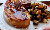 Cottage Cheese Stuffed French Toast
