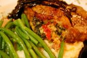 Apricot-stuffed Pork Chops