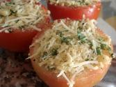 Sage Crumb Stuffed Tomatoes