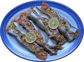 Vegetable Stuffed Trout