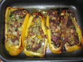 Beef &amp; Rice Stuffed Vegetables