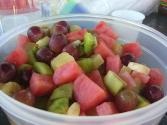 Summer Fruit Salad With Spinach