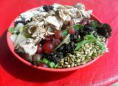 Peanut Sunflower Waldorf Salad