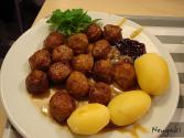 Microwave Cooked Swedish Meatballs