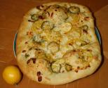 Sweet Corn Pizza
