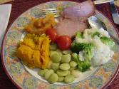 Sweet And Sour Glazed Ham