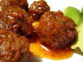 Sweet And Sour Meatballs With Peppers