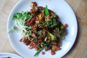 Sweet Potato Broccoli Stir Fry
