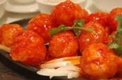 Cantonese Meat Balls In Sweet And Sour Sauce