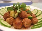 Sweet-and-sour Chinese Meatballs