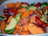 Basic Sweet And Pungent Vegetables