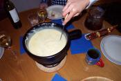 Swiss Cheese Fondue With Milk