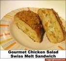 Swiss Capped Glazed Chicken