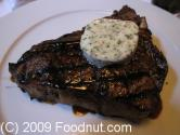 T-bone Steaks With Barbeque Butter