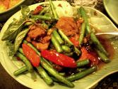 Thai-flavored Scallops With Green Beans