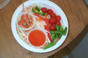 Sweet And Sour Thai Shrimp Salad