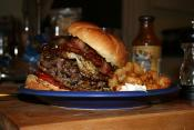 The Big Bacon Burger