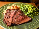 Brandied Sirloin Tip Roast