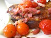 Tomato Bacon Rarebit