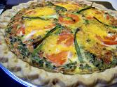 Tomato Cheese Quiche