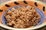 Tomato And Mushroom Risotto