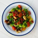 Tomato Salad With Bacon Dressing