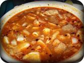 Tripe &amp; Hominy Soup