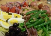 Tuna Bean And Olive Salad