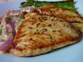 Turkey Escalopes With Asparagus