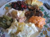 Molded Turkey And Cranberry Salad