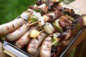 Turkey Tenderloin Kabobs