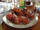 Turkey Legs With Prunes