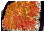 Salami-vegetable Bake