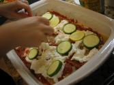 Mixed Cheese & Vegetable Lasagna